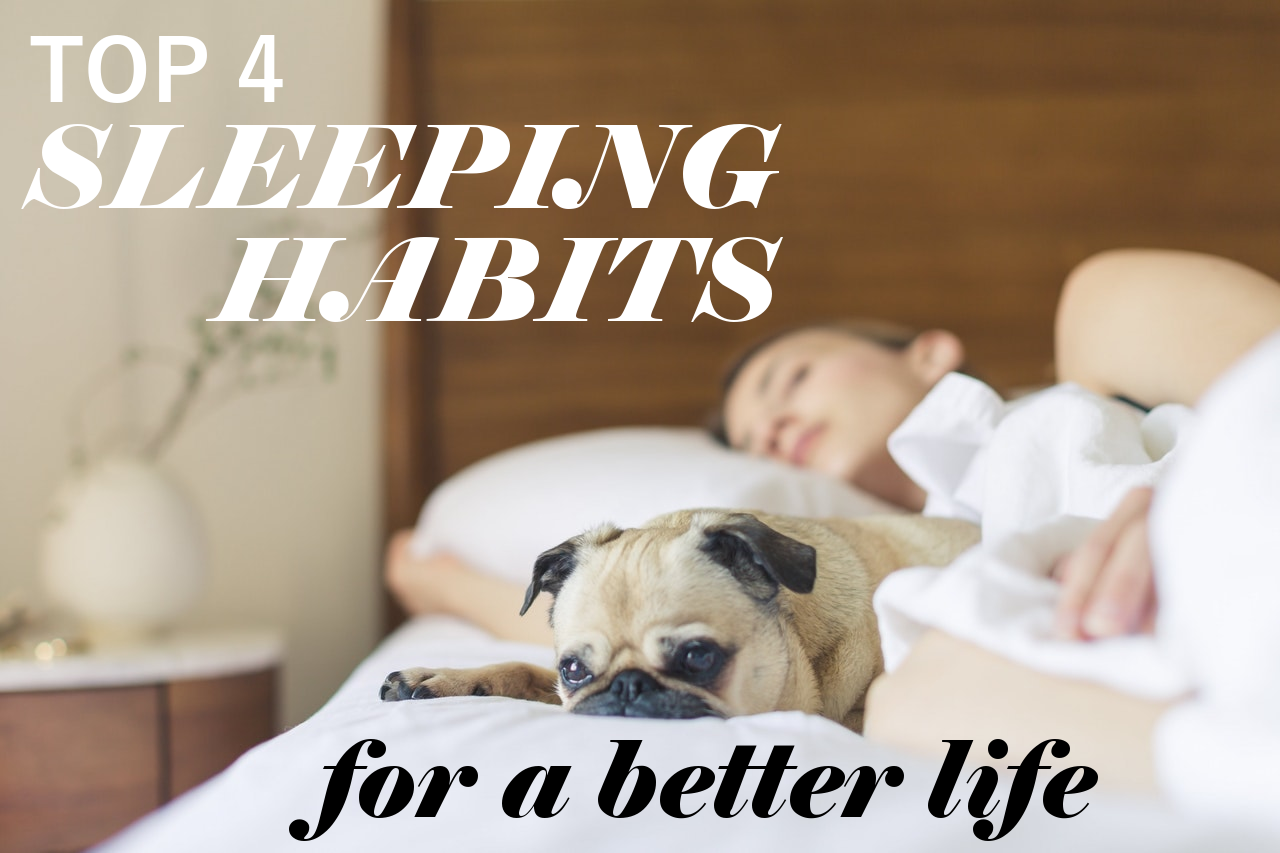 how to get better sleeping habits